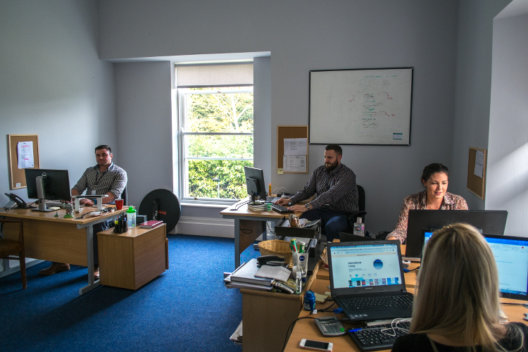 Office at Woodlock House